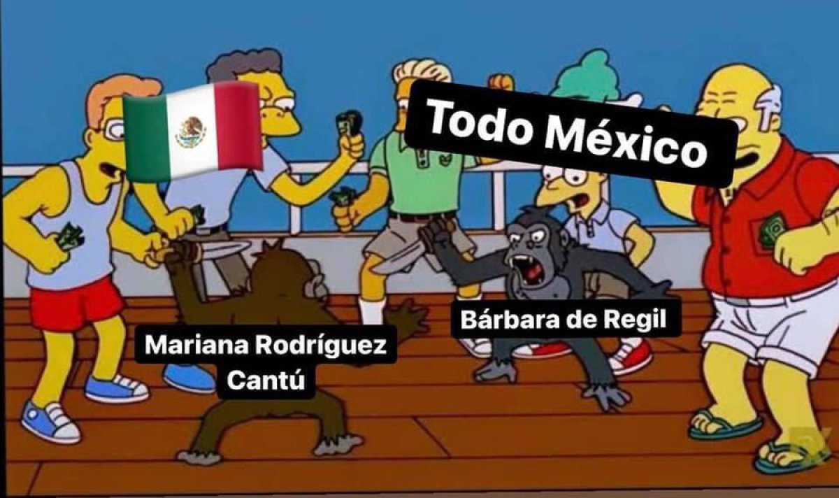 Pelea falsa entre Bárbara de Regil y Mariana Rodríguez se hace memes