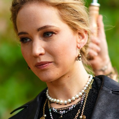 Jennifer Lawrence sufre accidente durante rodaje